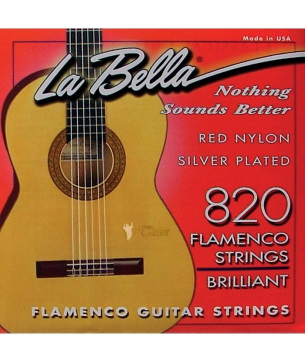 Set Cuerdas La Bella 820 Flamenca
