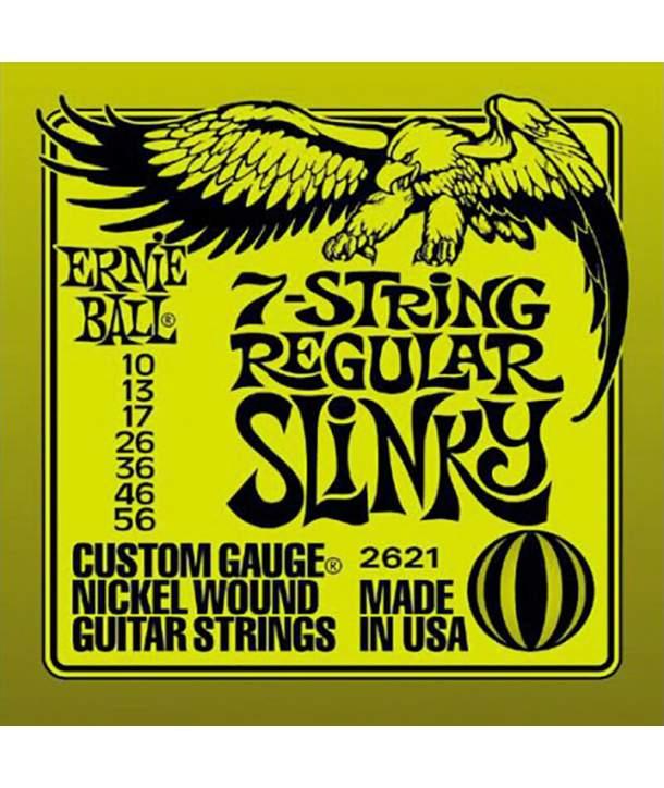 Juego Cuerdas Guitarra Eléctrica Ernie Ball 2226 Burly Slinky