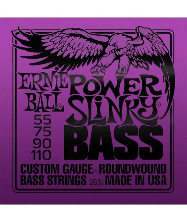 Juego Cuerdas Bajo Ernie Ball 2831 Power Slinky