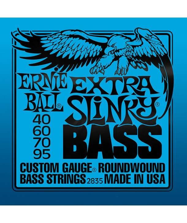 Juego Cuerdas Bajo Ernie Ball 2835 Extra Slinky