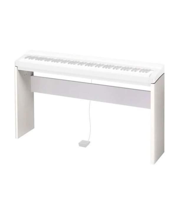 Soporte de piano de madera Casio CS-68 PWE para pianos digitales PX-S
