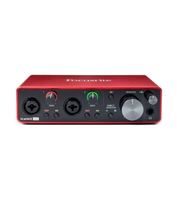 Focusrite Scarlett 2i2 3nd Gen - Interface Audio USB
