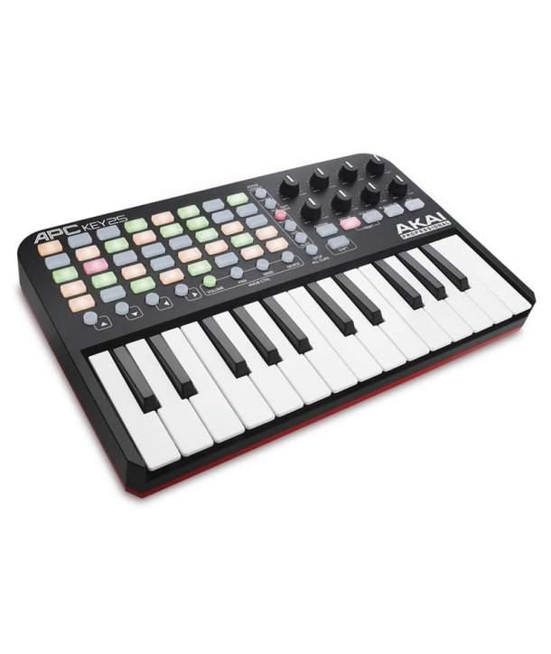 TECLADO MIDI 25 TECLAS AKAI APC KEY 25