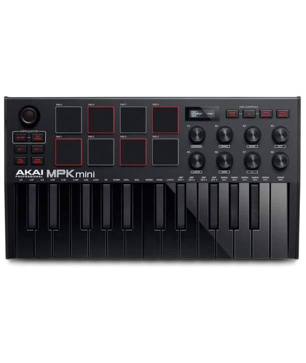 TECLADO MIDI 25 TECLAS AKAI MPK MINI MK3