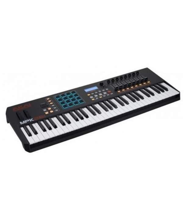 TECLADO MIDI 61 TECLAS AKAI MPK261