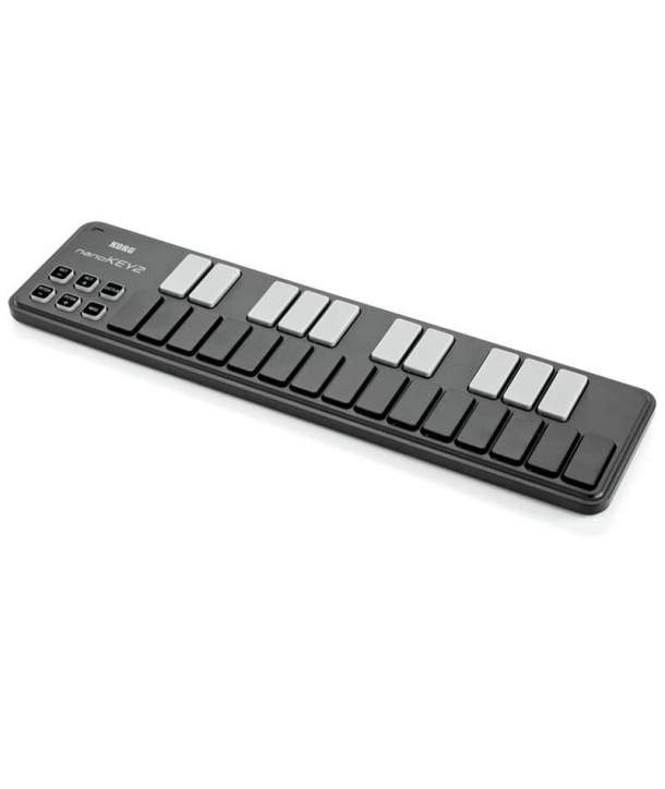 TECLADO MIDI 25 TECLAS KORG NANOKEY 2 BLACK