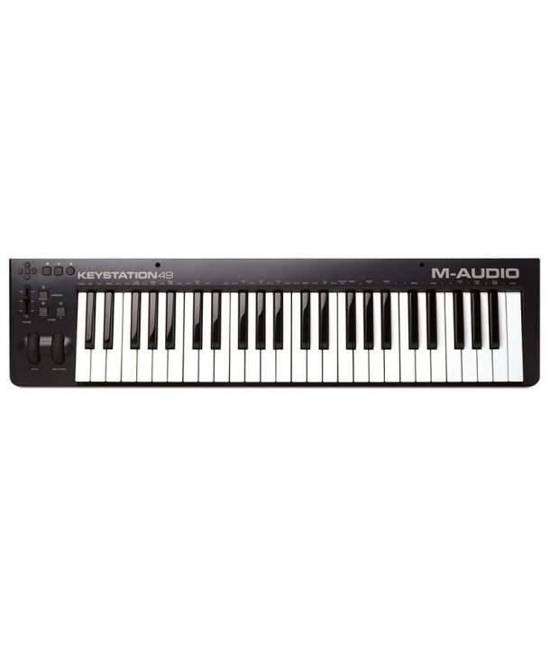 TECLADO MIDI 49 TECLAS M-AUDIO KEYSTATION 49 MK3