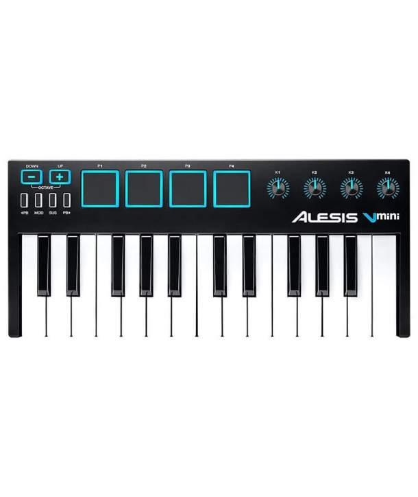 TECLADO MIDI 25 TECLAS ALESIS VMINI USB