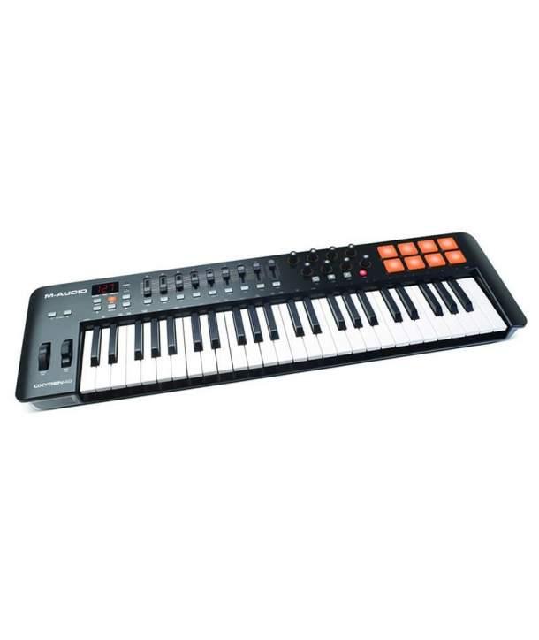 TECLADO MIDI 49 TECLAS M-AUDIO OXYGEN 49 MK4
