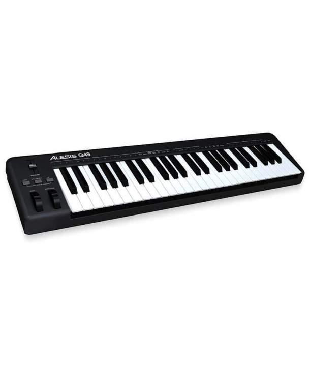 TECLADO MIDI 49 TECLAS ALESIS Q49