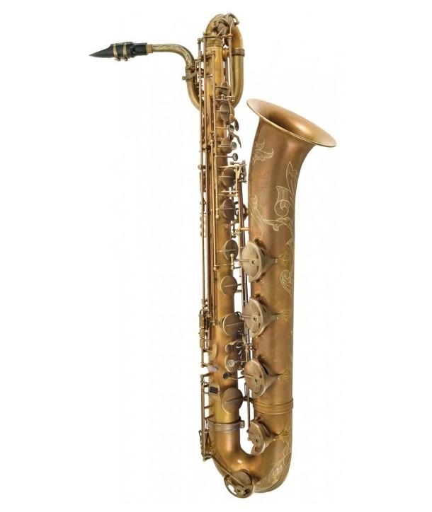 Saxofón Barítono P.Mauriat PMB-300 UL Sin Lacado