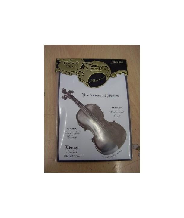 Strad Pad Standard Ébano - Protector Barbada Violín/Viola