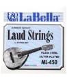 """Juego de Cuerdas Laúd """"La Bella"""""""