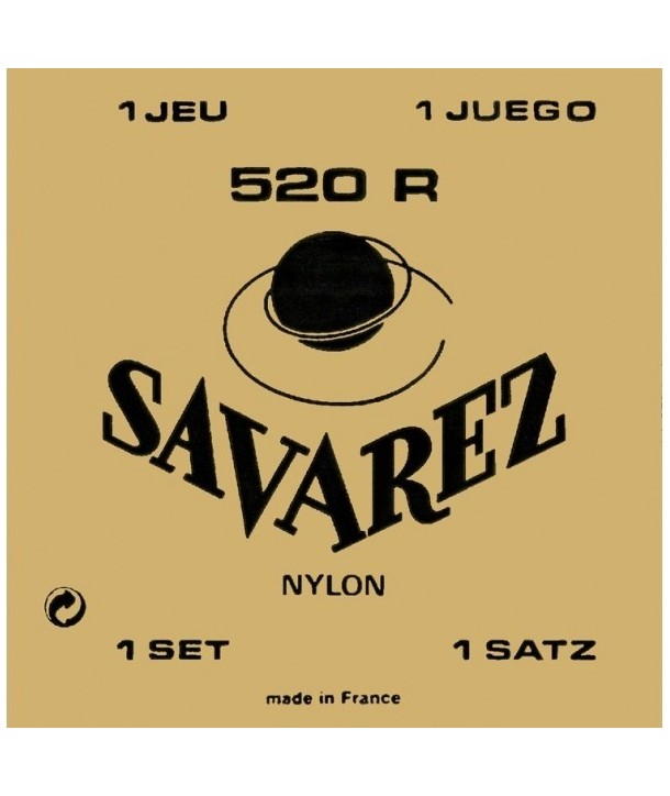 Set Cuerdas Savarez 520R Carta Roja