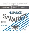 Set Cuerdas Savarez 540-J Alliance Azul