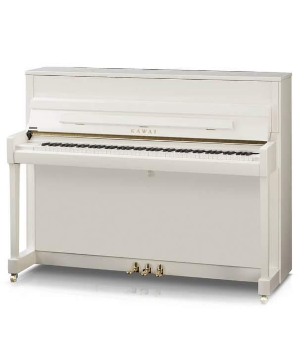 Piano Vertical Kawai K-200 Blanco Pulido