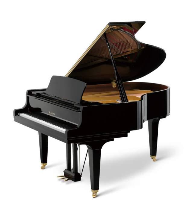 Piano de cola Kawai GL-50 Negro Pulido