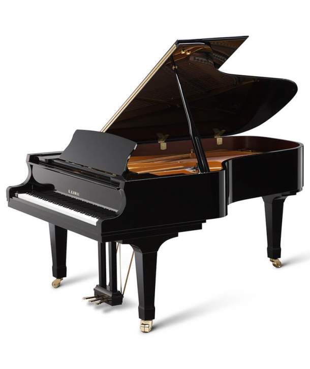 Piano de cola Kawai GX-6 Negro Pulido