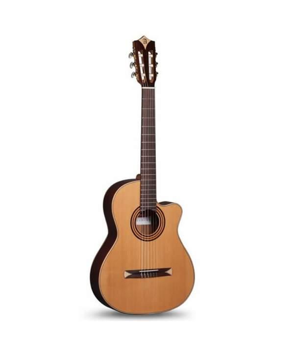 Guitarra Semiacústica Cross Over Alhambra CS-1 CW E1