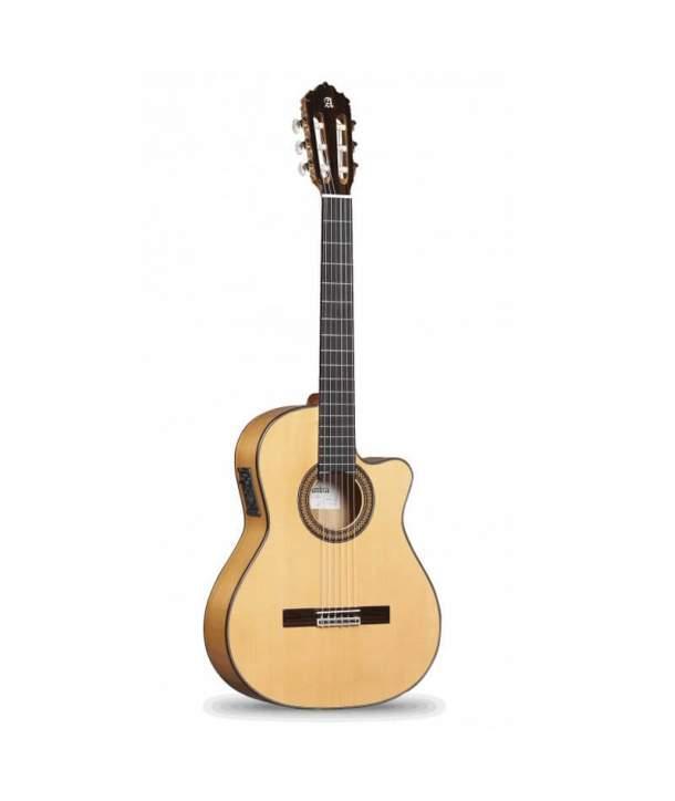 Guitarra Flamenca Semiacústica Alhambra 7FC CW E8