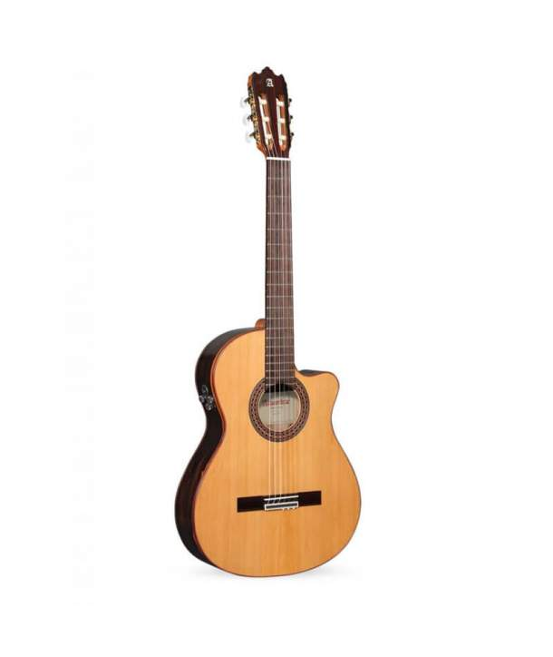Guitarra Semiacústica de Estudio Alhambra Iberia Ziricote CTW E8